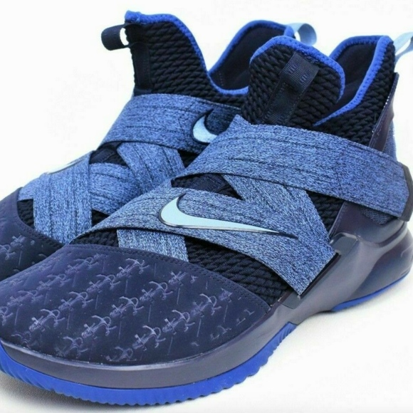 794b6931145c3 Nike LeBron Soldier 12 Anchor blackened blue 13 DS